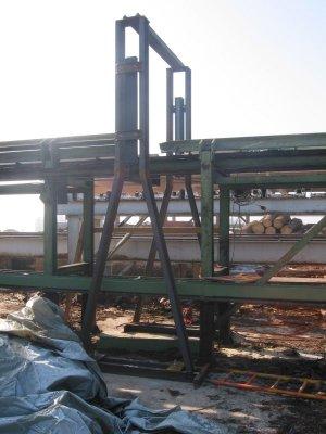 Stahlkonstruktion für die Runholzvermessung