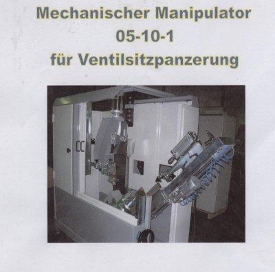 Mit dieser PTA Schweißanlage können Ventilteller und Sitzpanzerungenmit den Abmaßen von Dm 65 bis 200mmund einer Schaftlänge von 320 bis 1100 mm durchgeführt werden