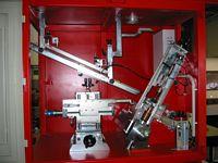 Zusammenbauen eines mechanischen Manipulators für PTA Maschinen