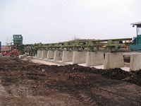 Sortierstrangmontage mit 24 Abwurfboxen